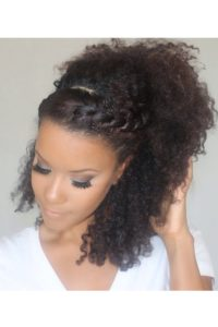 The Muse Salon Northampton -- Afro Style Double Twisted Pony